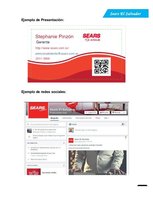 9df9ff647 Plan de relaciones publicas de Sears