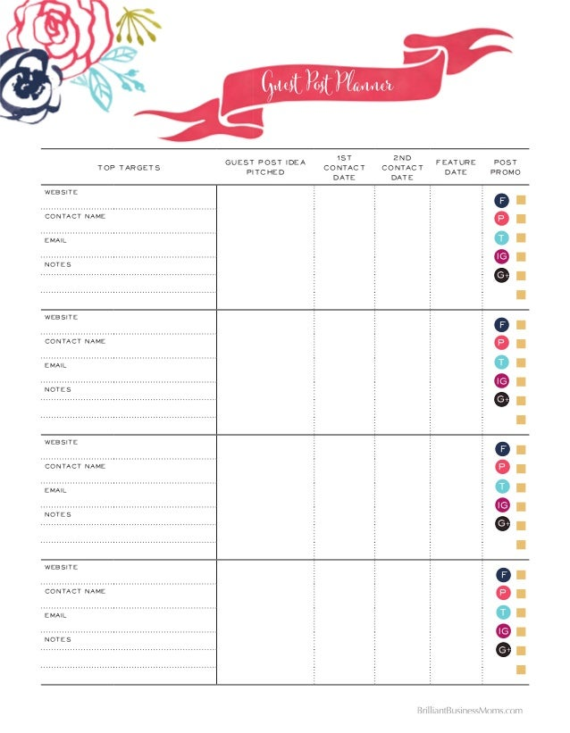 the brilliant business planner