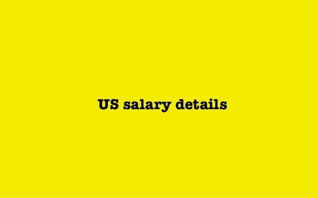 US salary details