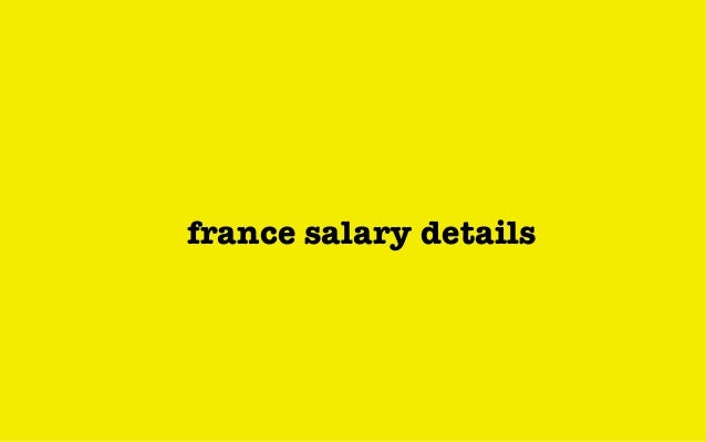 france salary details
