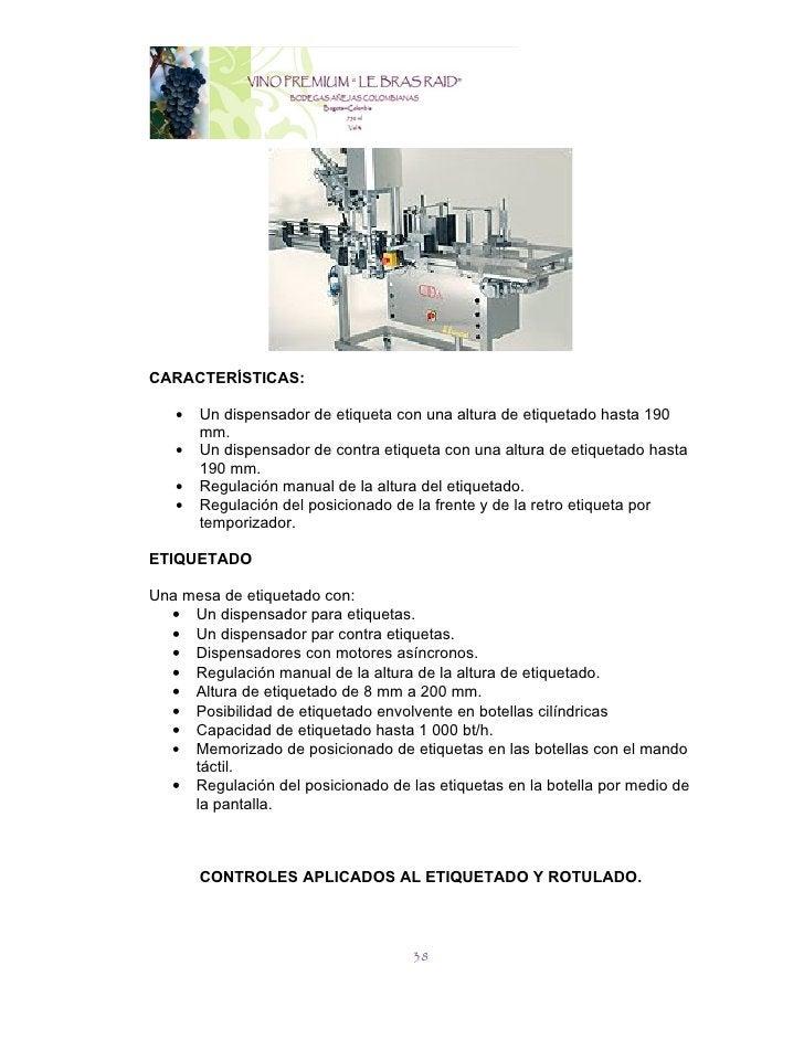 CARACTERÍSTICAS:   •   Un dispensador de etiqueta con una altura de etiquetado hasta 190       mm.   •   Un dispensador de...
