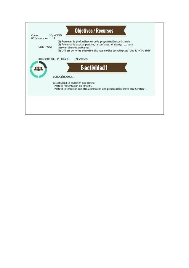 Fase II: Nos sumergimos en Scratch