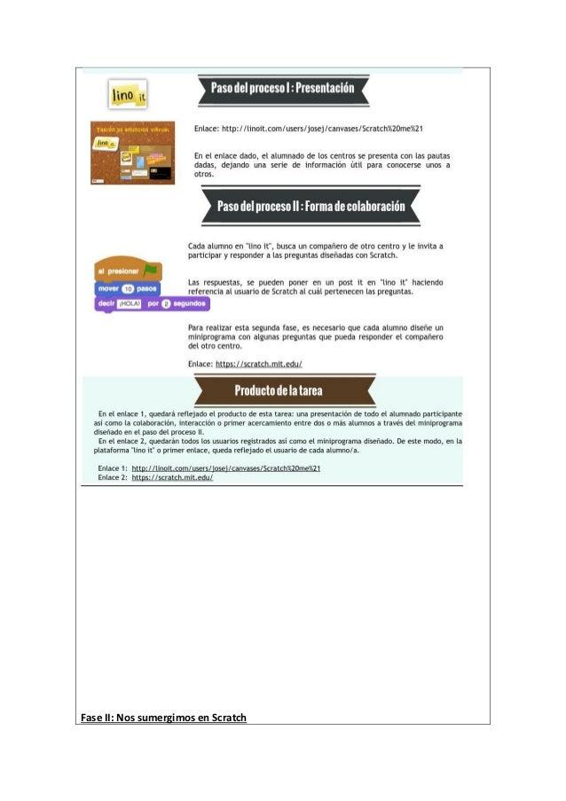E-actividad 2.4 Nos vamos soltando con el programa Scratch. Título: Condición o no condición, esa es la cuestión Tipo: Ind...