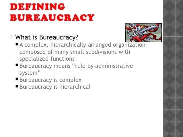 principles of bureaucratic management theory pdf