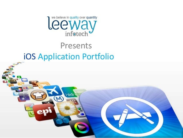 Presents iOS Application Portfolio