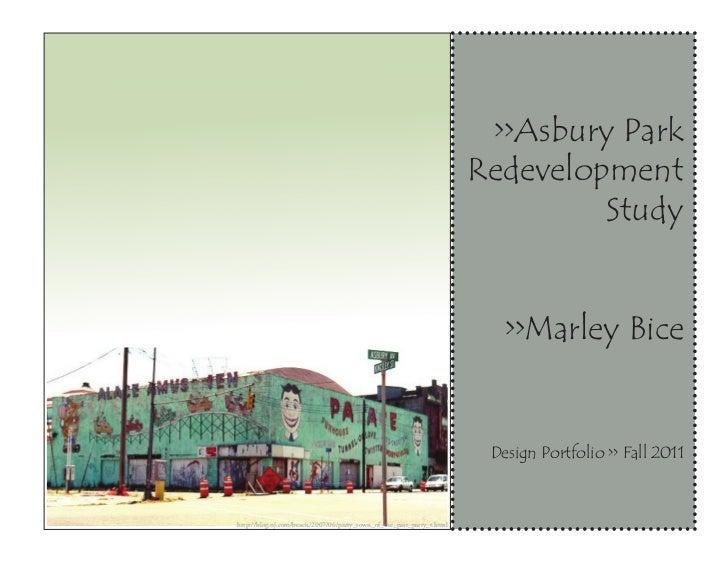 >>Asbury Park                                                                       Redevelopment                         ...