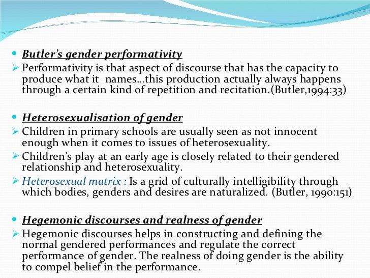 Heterosexual matrix butler