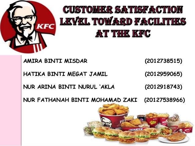 project report on customer satisfaction in restaurants
