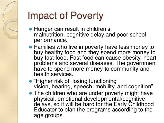 Effects of Family Structure on Poverty
