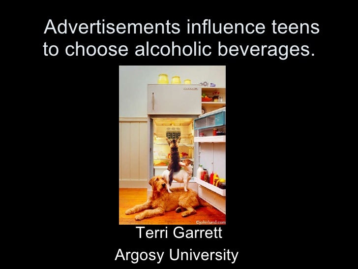 Teen Drinking Influenced by Alcohol Advertising