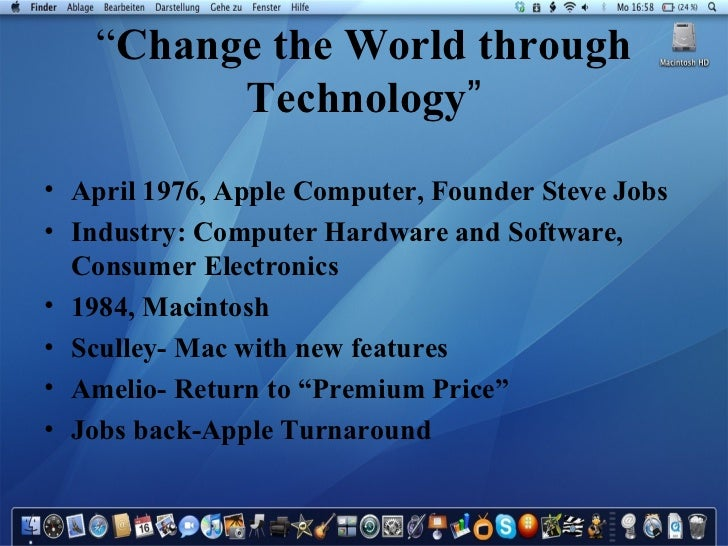 apple in 2008 case study