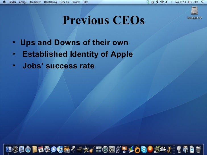 apple inc 2008 case study Apple inc 2008 case study 1 apple inc  ( mba 660 usm) presented by: jennifer cao.