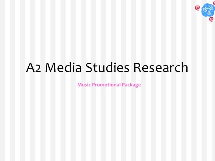 A2 Media Studies Research<br />Music Promotional Package<br />