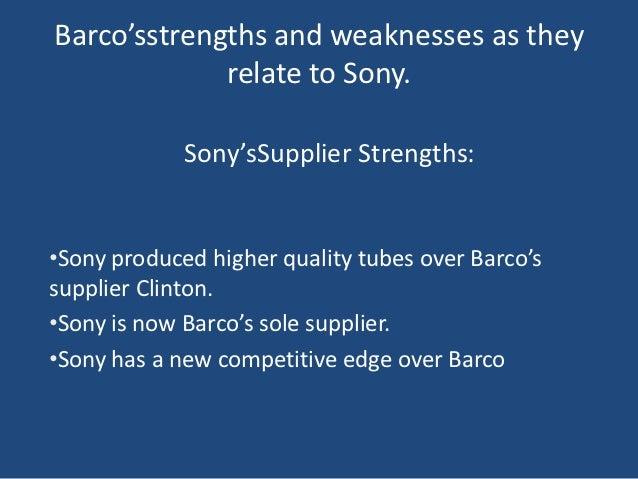 Barco Case Study - Term Papers - en.essays.club