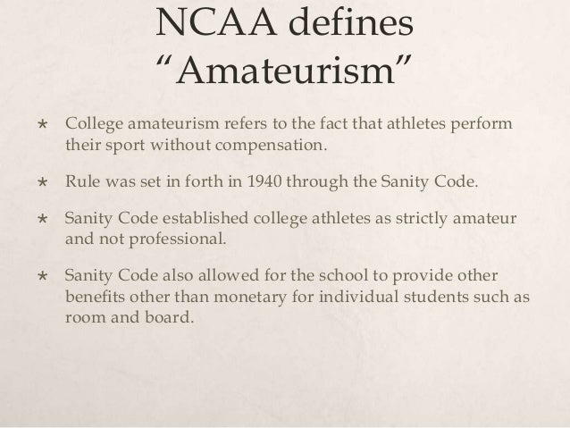 college athletes should be paid ncaa