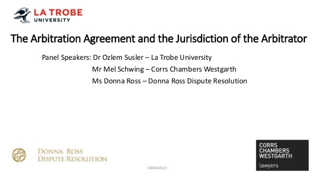 Arbitration Panel Discussion 18 May 2016