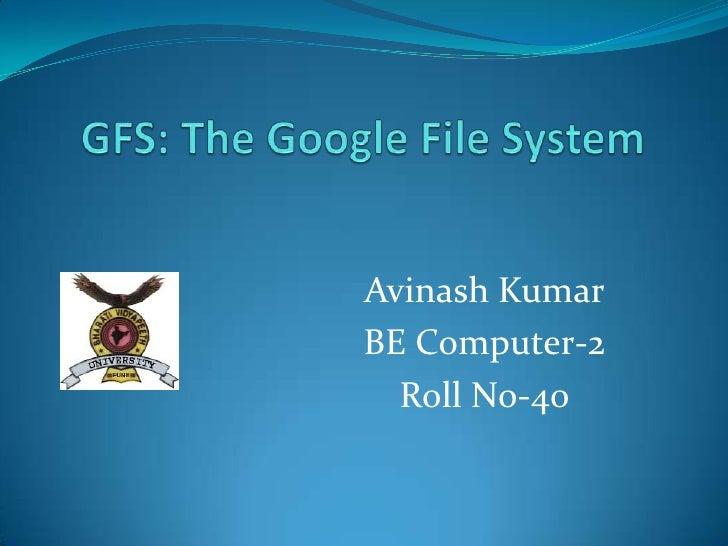 Avinash Kumar BE Computer-2   Roll No-40