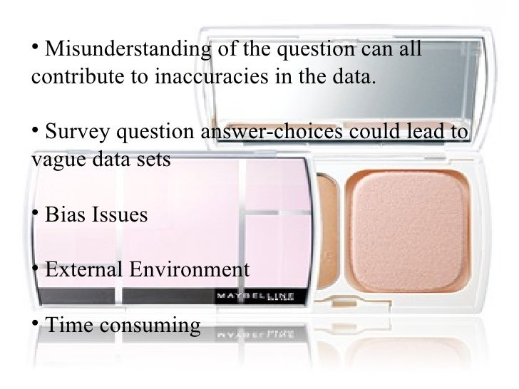 Research Methodology on cosmetics