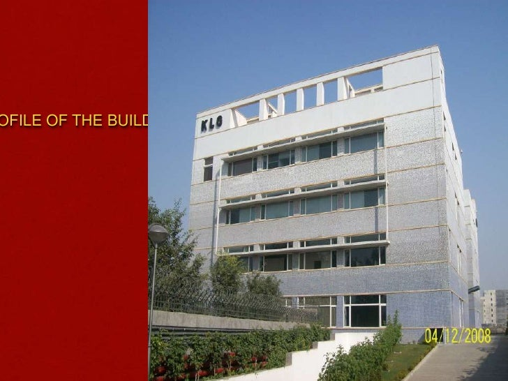 PROFILE OF THE BUILDING <br />