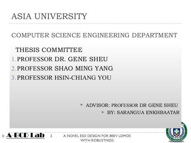ldmos thesis Simulation of ldmos high frequency power transistor this thesis begins isolation of the ldmos power transistor to make it.