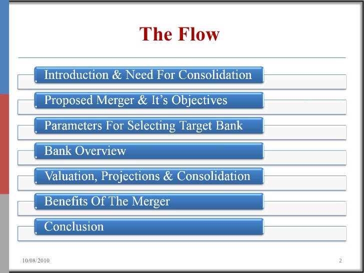 consolidation in banking essay Pros and cons of bank mergers  the number of public sector banks will come down, perhaps to 6 or 7, after the proposed consolidation of banks this will.