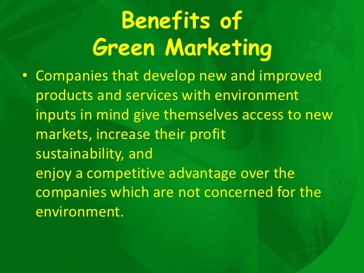 How to Include Green Marketing in Your Business Plan