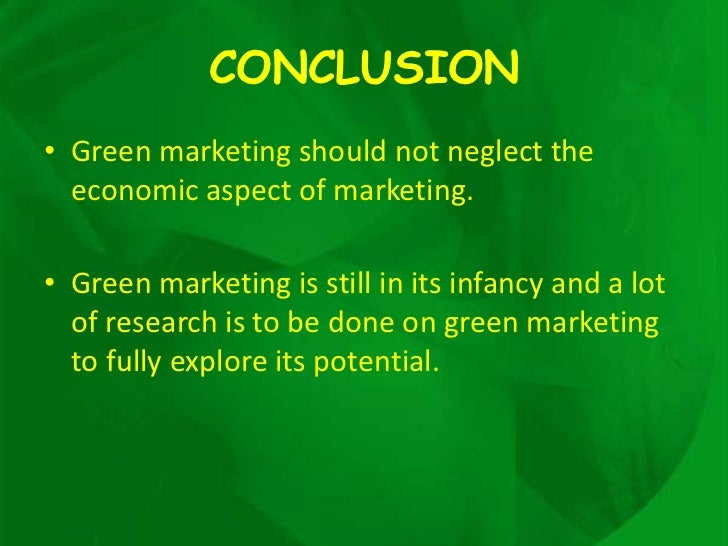 an essay on green marketing The road to success is easy with a little help let's get your assignment out of the way.