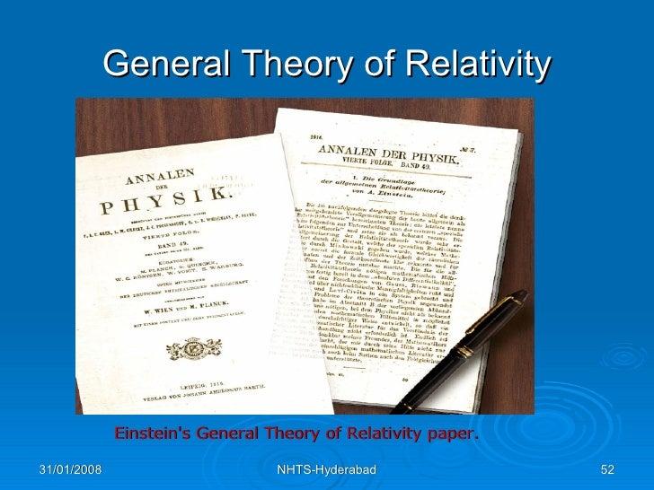 special relativity paper