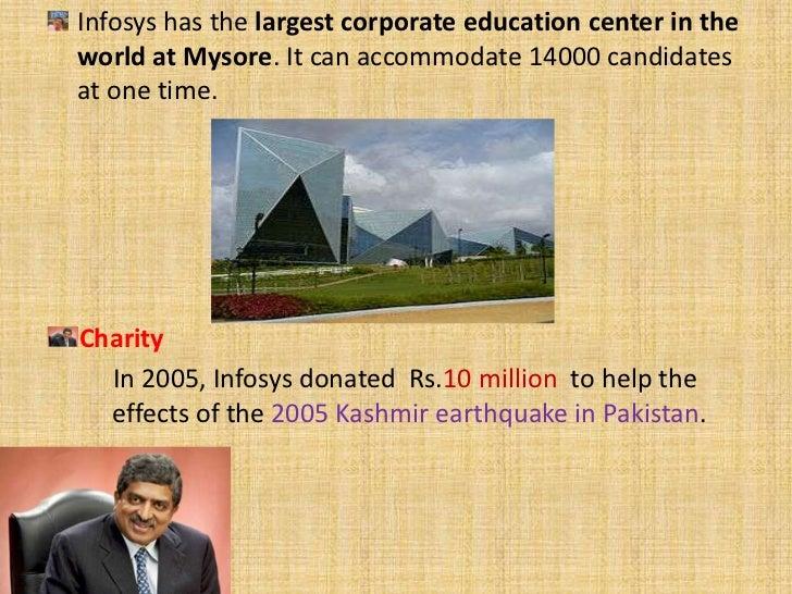 Infosys                       Infosys has                                                       more thanInfosys          ...