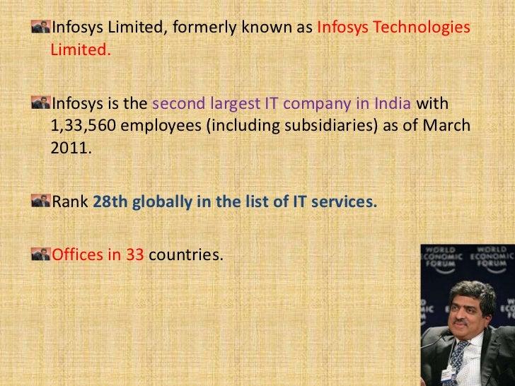 HISTORY OF INFOYSISInfosys was founded on 2 July 1981By seven entrepreneurs: N. R. Narayana Murthy, NandanNilekani, Kris G...