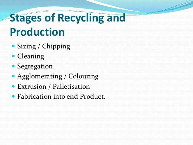 plastics recycling business plan pdf