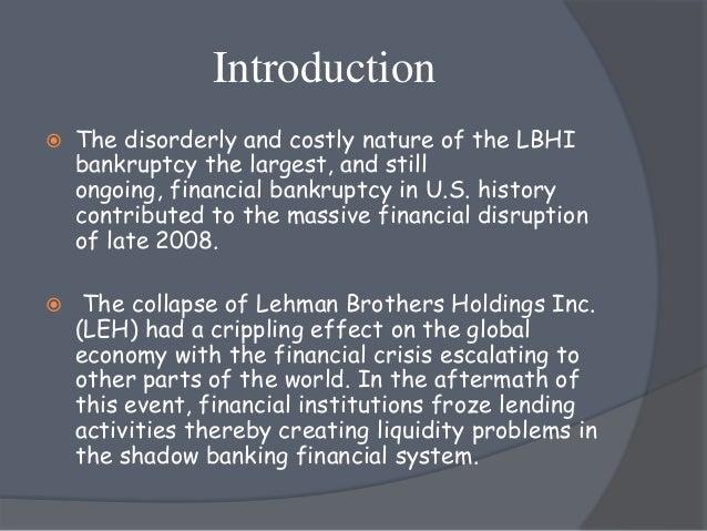 lehman brothers case study slideshare