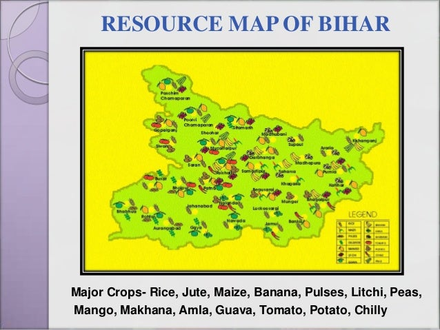 Image result for bihar agriculture map
