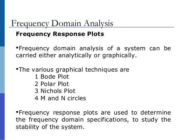 relationship between frequency domain and time analysis