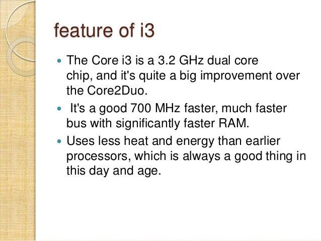 Intel I3 I5 I7 Processor
