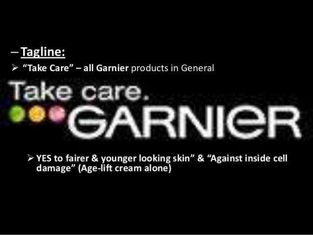 Marketing Strategy of Garnier