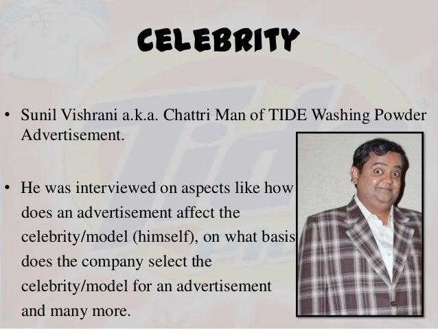 Impact Of Celebrity Endorsements On Brand - IJSER