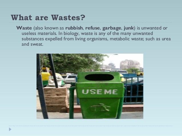solid waste management Slide 3
