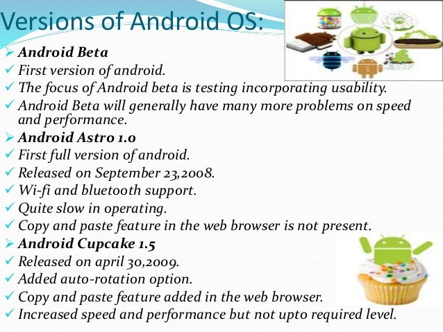 ANDROID MOBILE OPERATING SYSTEM