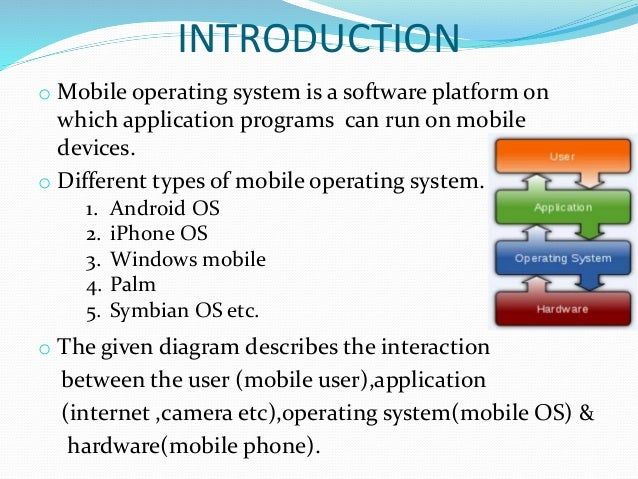 an introduction to modern mobile operating Mobile operating system introduction definition of mobile os:a mobile operating system, also known as a mobile os, mobile software platform or a handheld operating system documents similar to mobile phone operating system ppt skip carousel.
