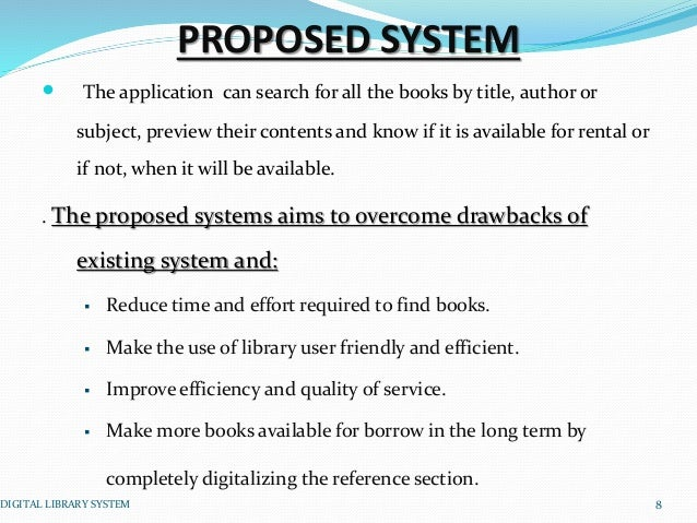 library existing system Aleph®: the aleph integrated library system provides academic, research, and national libraries with the tools and workflow support they need koha is built using library standards and protocols that ensure interoperability between koha and other systems and technologies, while supporting existing workflows and.