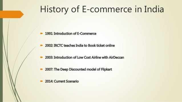 e commerce scenario in india This digital revolution, the e-commerce sector in india has become 4 times its size, from $38 billion in 2009 to $17 billion in 2014, growing at a cagr of 37.