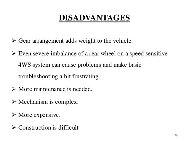 advantages and disadvantages of gear drives pdf