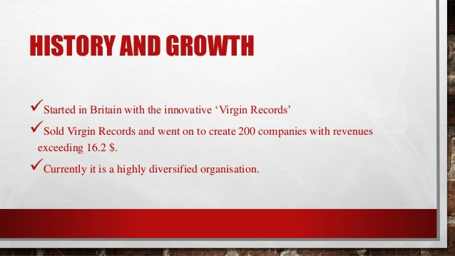 case study the virgin group A case study on the virgin groups management  the virgin group has also been seen to be scaling up its investment in renewable energy having committed to.