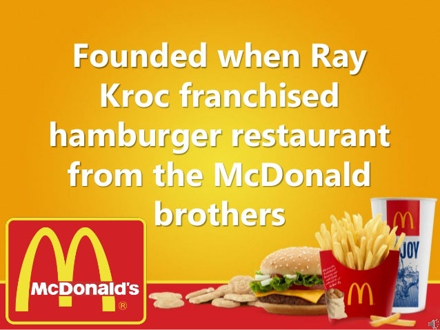 mcdonalds case study marketing research This is a research report on mcdonalds case study - scm by rajesh raj in operations research category search and upload all types of mcdonalds case study - scm projects for mba's on managementparadisecom.