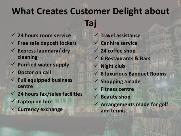 taj people philosphy and star system Success undelies in the commitment and pledge of its people govind dholakia talks about his philosophy and secrets to his #13 taj hotels: icon of hospitality.