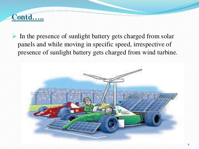 Solar and Wind Powered Hybrid Energy Vehicle