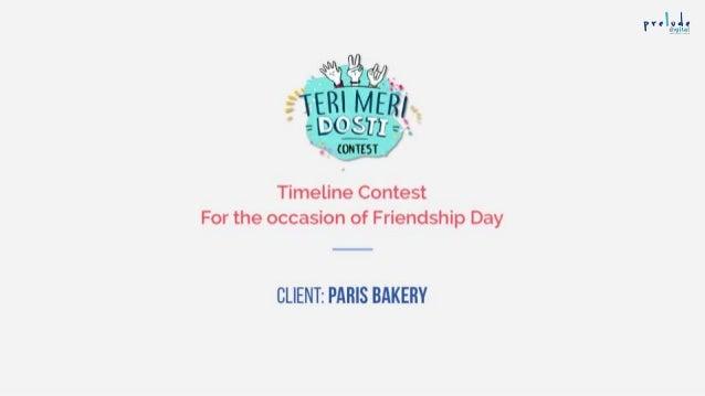 Social Media Timeline Contest