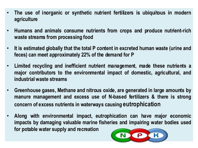 NUTRIENT RECOVERY FROM WASTES