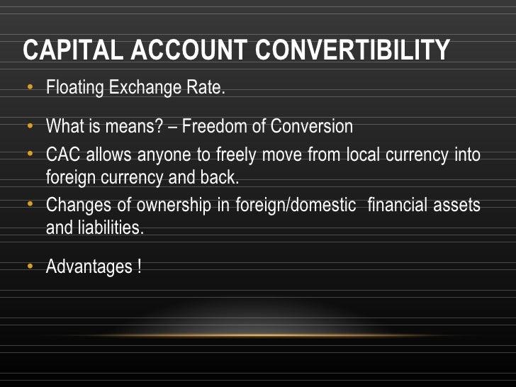 gold standard or floating exchange rate